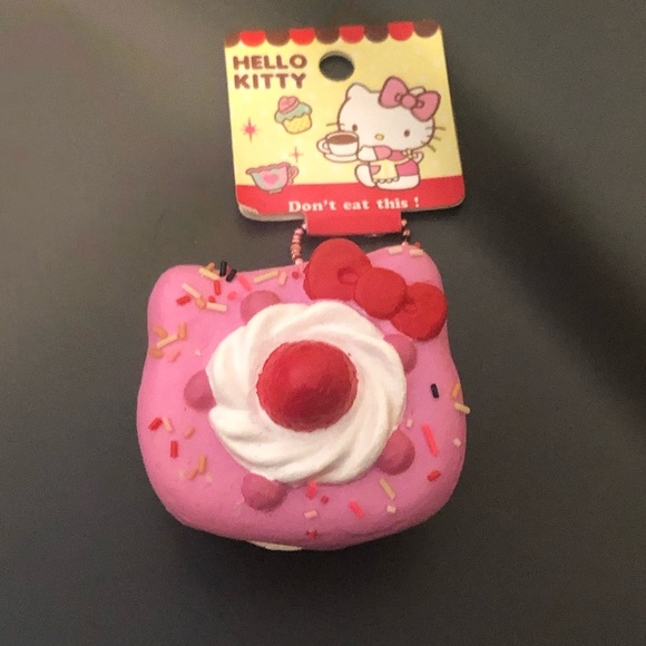 Other - Rare Hello Kitty Sweets Cafe Shortcake squishy